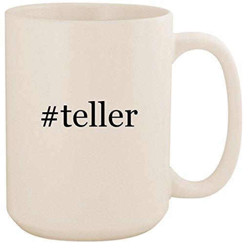 #teller - White Hashtag 15oz Ceramic Coffee Mug ()