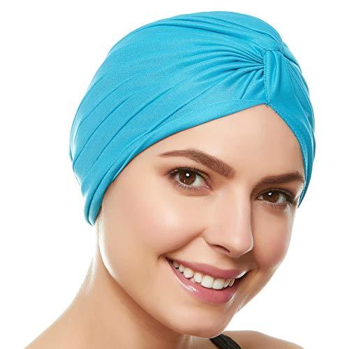 Beemo Women's Swim Bathing Turban - Turquoise