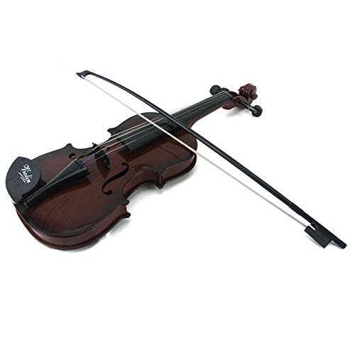 E Support™ Kids Educational Musical Instrument Fiddle Brown Simulation Toys Violin Demo Starter Kit by E Support