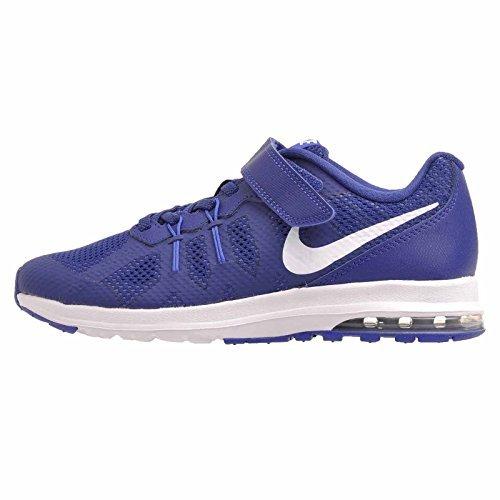 Nike Boys/Girls Air Max Dynasty (PSV), Deep Royal Blue/White, Size 2