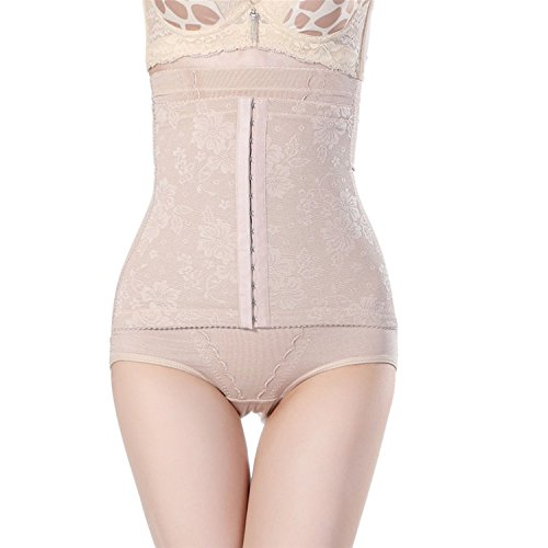 2de7bc0080 Image Unavailable. Image not available for. Color  Ausom Women High Waist  Cincher Girdle Belly Trainer Corset Body Shapewear