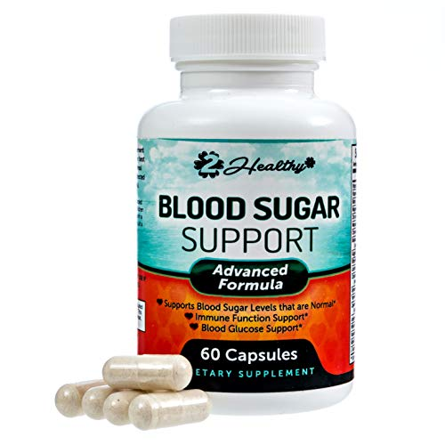 (Blood Sugar Support Supplement - 20 Herbs & Multi-vitamin for Blood Sugar Control with Alpha Lipoic Acid, Cinnamon & Licorice Root - 60 Pills)