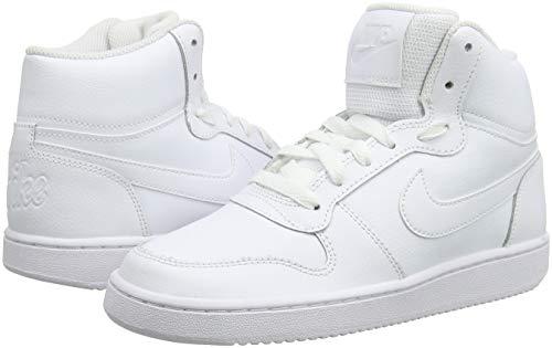 Mid Zapatos Blanco Baloncesto white Mujer 100 De Wmns Ebernon white Para Nike 1Hw8tEUxq4