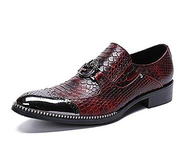 LOVDRAM Zapatos De Cuero Para Hombre Zapatos De Cuero De Los ...