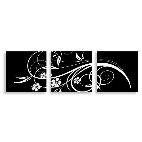 3 Panel Black and White Painting Home Wall s for Bedroom Living Room Paintings Framed x3 Panels