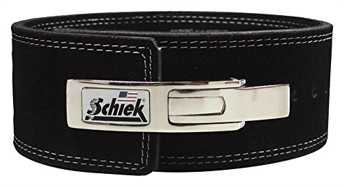 SCHIEK Lever Competition Power Lifting Belt Black Extra Large