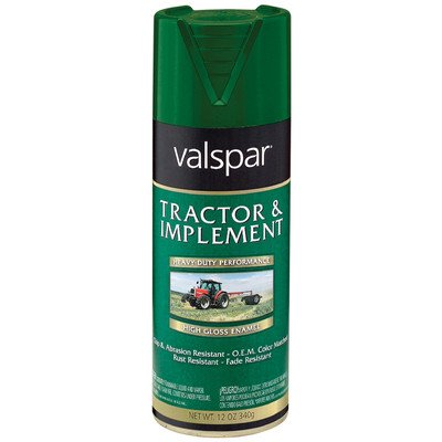 Tractor and Implement Enamel Spray Paint [Set of 6] Color: John Deere - Spray Enamel Implement