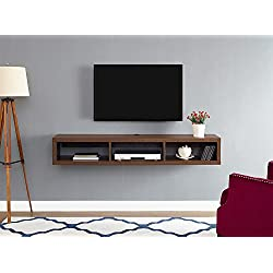 "Martin Furniture IMSE360C Floating TV Console, 60"", Columbian Walnut"