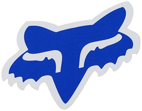 """Fox Men's Head-4"""" Sticker, Blue, One Size"""