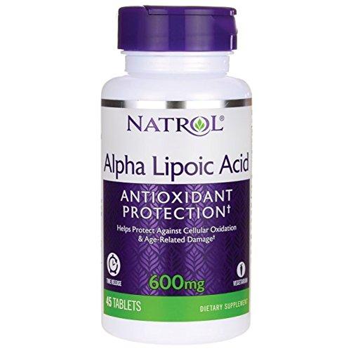 Natrol Alpha Lipoic Acid 600 T/R 45 Tab