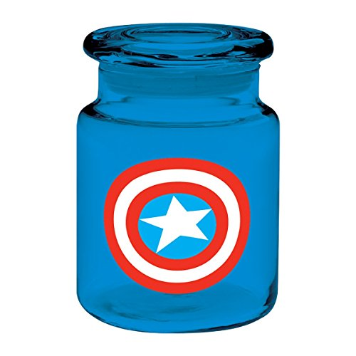 captain america glass cup - 6