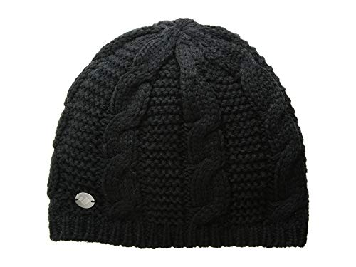 Obermeyer Women's Cable Knit Hat Black One -