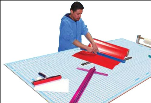 Self Healing 5'x8' Rhino Cutting Mat with Grid Sheet by Signs Direct