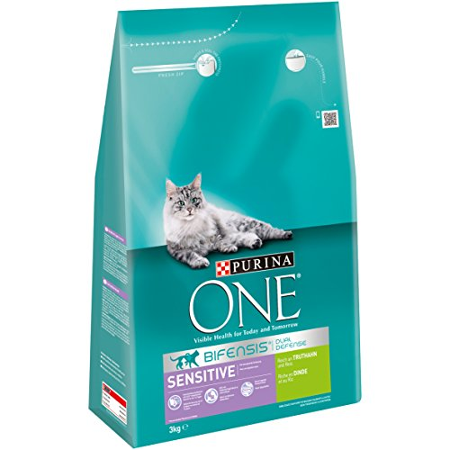 ONE Sensitive Gato Forro Rico en Pavo y Arroz, 4Unidades (4x 3kg)