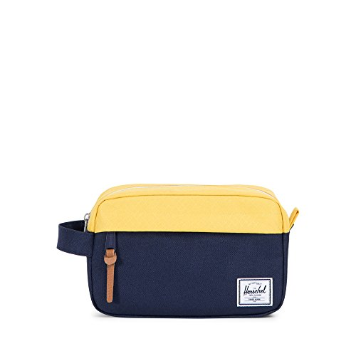 Herschel Supply Co. Chapter Carry on Travel Kit, Peacoat/Cyber Yellow by Herschel Supply Co.