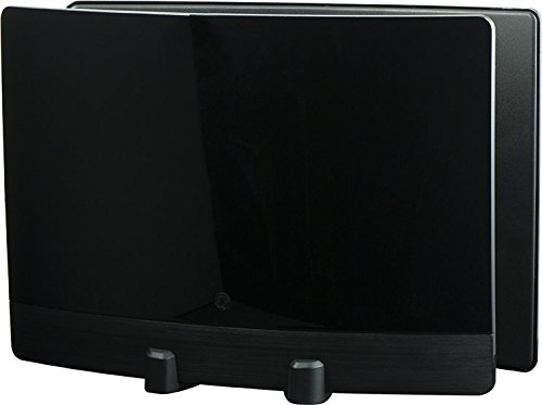 GE 34137 UltraPro Optima HDTV Antenna for VHF/UHF Channels - Indoor TV Antenna with Signal Enhancing Reflector Panel - 10 Foot Coax Cable Included - 60 Mile Range