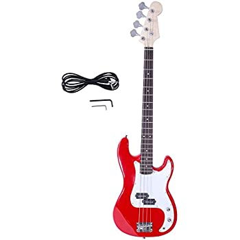 crescent electric bass guitar starter kit transparent blue color includes amp. Black Bedroom Furniture Sets. Home Design Ideas