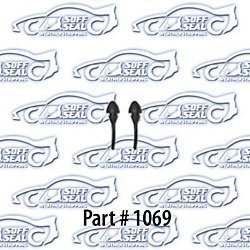 SoffSeal 1069 Glove Box Door Bumpers