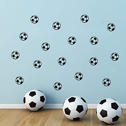 (VOIYO Wall Sticker The Children's Bedroom Carved Football Background Wall Stickers Wholesale Home Furnishing Waterproof Paste)