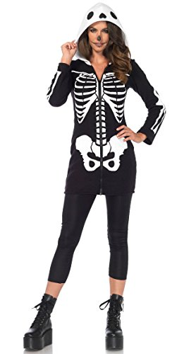 Yandy LA Cozy Skeleton Costume, Sexy Skeleton Costume -
