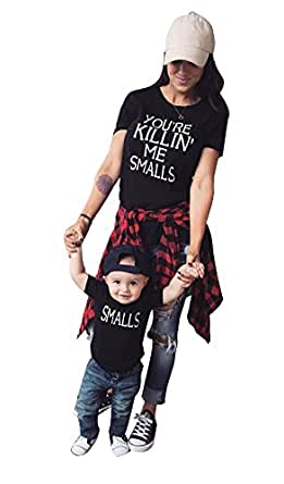 6aac597e2 Amazon.com  Lesimsam You re Killing Me Smalls T Shirt Family ...
