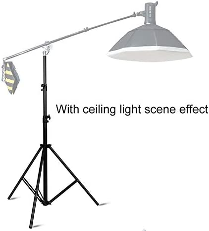 ZQ House 3m Height Professional Photography Metal Lighting Stand Spring Buffer Holder for Studio Flash Light