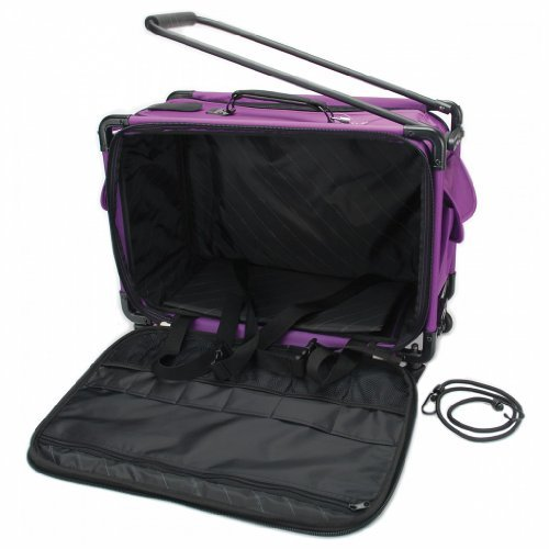 TUTTO Machine On Wheels Case 23″X15″X12″-Purple