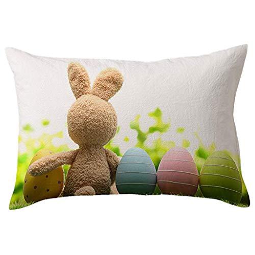 OrchidAmor Cotton Linen Square Home Decorative Throw Pillow Case Sofa Waist Cushion Cover 2019