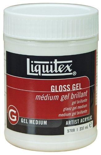 Liquitex Professional Gloss Gel, Medium, 8 (Liquitex Basics Series)