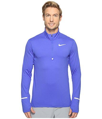 a6b15f44 Galleon - Nike Mens Dri-Fit Element Half Zip - Medium - Paramount Blue