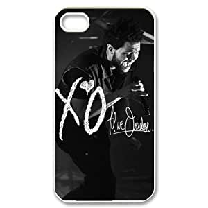 taoyix diy C-EUR Customized Print The Weeknd XO Pattern Back Case for iPhone 4/4S