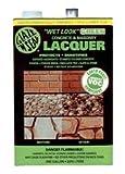 Wet Look Green Concrete & Masonry Lacquer Quart