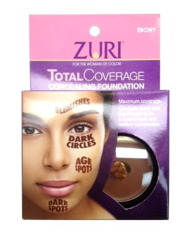 Zuri Total Coverage Concealing Foundation 0.14 oz/4g
