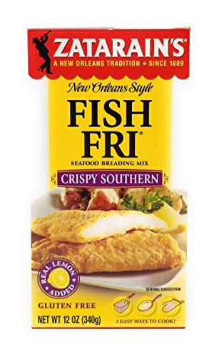 (Zatarain's Seasoned Fish-Fri, Crispy Southern Style Fry, 12 oz (6)