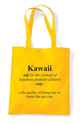 Shopper Bag Kawaii Dictionary Yellow In Not Alternative Tote The Definition Funny n8TnBz