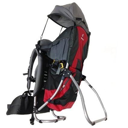 949b14dc70 Deuter Zaino Portabimbo Kid Comfort Air, Colore: Rosso: Amazon.it: Sport e  tempo libero