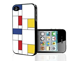 Abstract Colorful Squares Hard Snap on Phone Case (iPhone 5c)