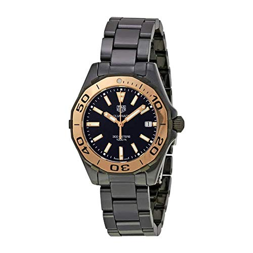TAG Heuer 300 Aquaracer Women's Black Dial Ceramic Watch - WAY1355.BH0716