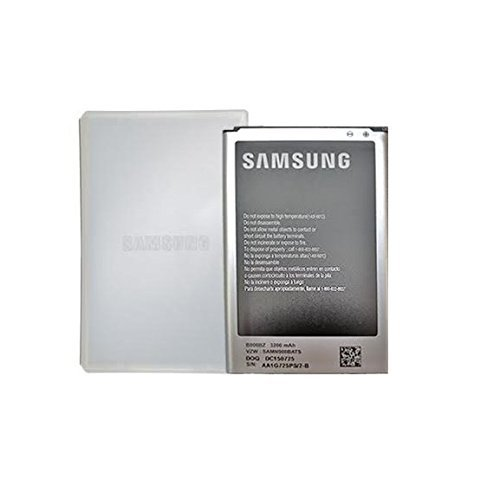 Original Samsung Galaxy Note 3 Battery 3200mAh NFC Technology W/Battery Protective Case (Made in Korea)