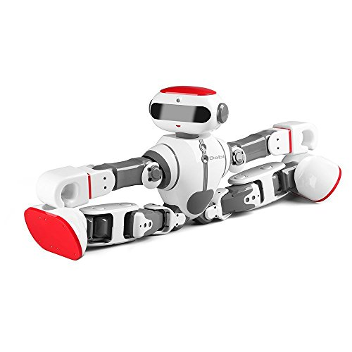 Intelligent Humanoid Robot Dobi Kids Toy Robot Voice/APP Control Toy with Dance/ Yoga/ Storytelling Kid's Suprise Gifts Accompany Friend by OUKU (Image #4)