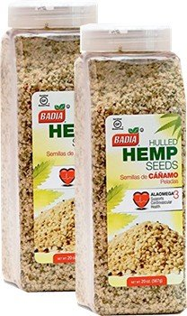 Badia Hulled Hemp Seeds 20 oz Pack of 2