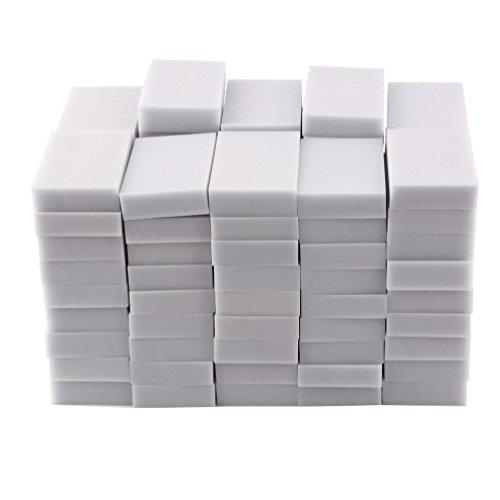 100pcs, 100 x 60 x 20mm Magic Sponge Cleaner Super Decontami