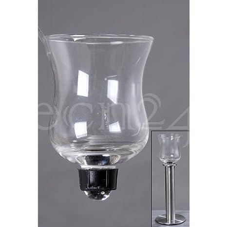 Amazonde Teelichthalter Aus Glas Für Kerzenleuchter
