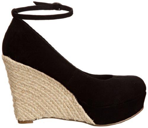 v Moda Sandales Noir femmes Henessey Pelle in 6 qHrYqzf