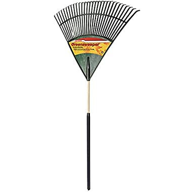 True Temper 30-Inch Poly Cushion Grip Leaf Rake - 1922800