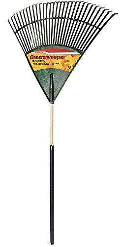 True Temper 30-in Poly Leaf Rake with Cushion Grip - 1922800
