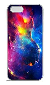Gorgeous Galaxy Space 01 Hard Case Cover iPhone 5S 5 Polycarbonate Clear