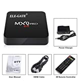ELE-GATE TV Box Smart 4k Android Quad-Core Netflix
