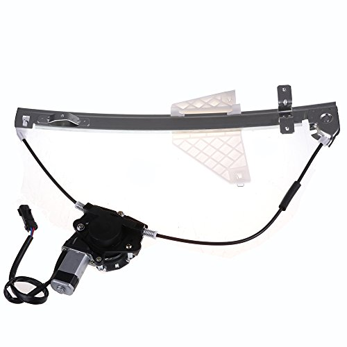 - cciyu Rear Left Drivers Side Power Window Lift Regulator with Motor Assembly Replacement fit for 2001-2004 Jeep Grand Cherokee