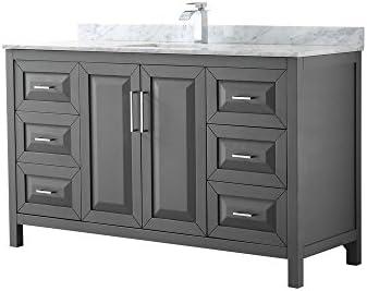 Wyndham Collection Daria 60 inch Single Bathroom Vanity